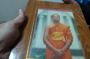 Jason at His Buddhist Monk Graduation